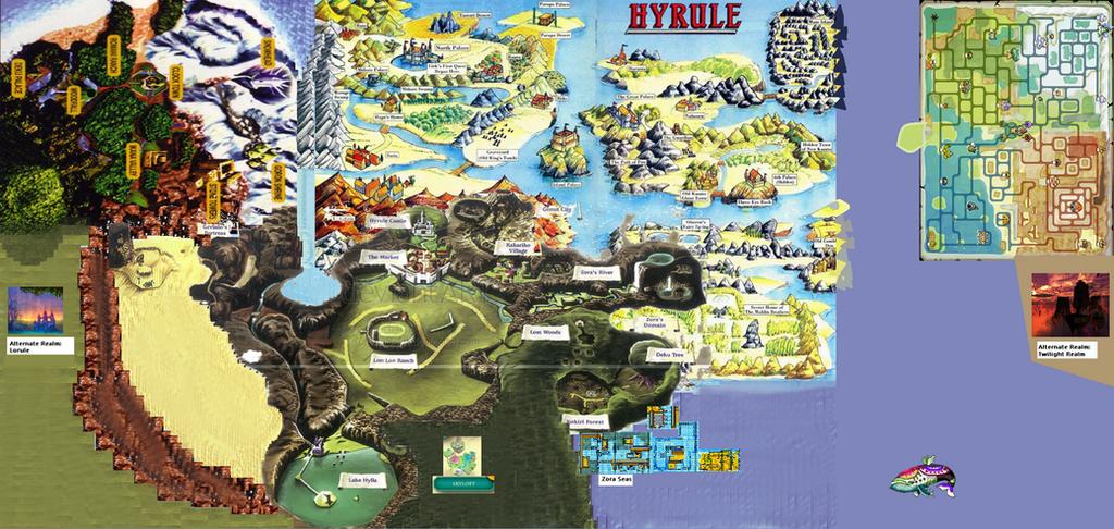 Legend of Zelda world map by JakeTheCardMaker on DeviantArt