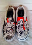 Zombie Shoes by Birdfoots