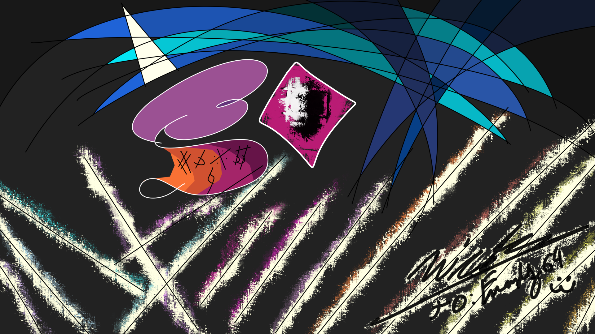 Dj Pon3 Is Now An Abstract Paint By Nicolasduca On Deviantart