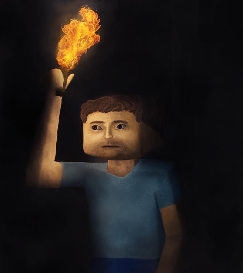 Minecraft Steve by cibb