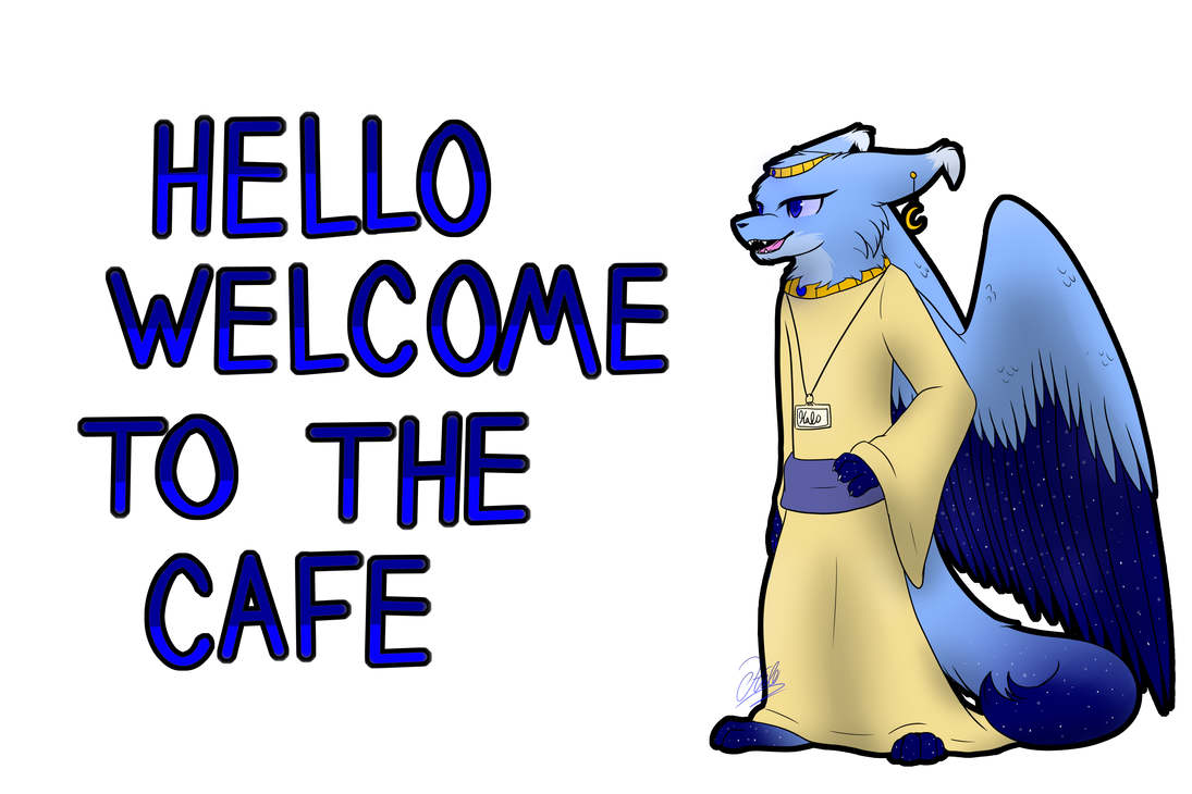 Immortal cafe Halo by AskImmortalCafe
