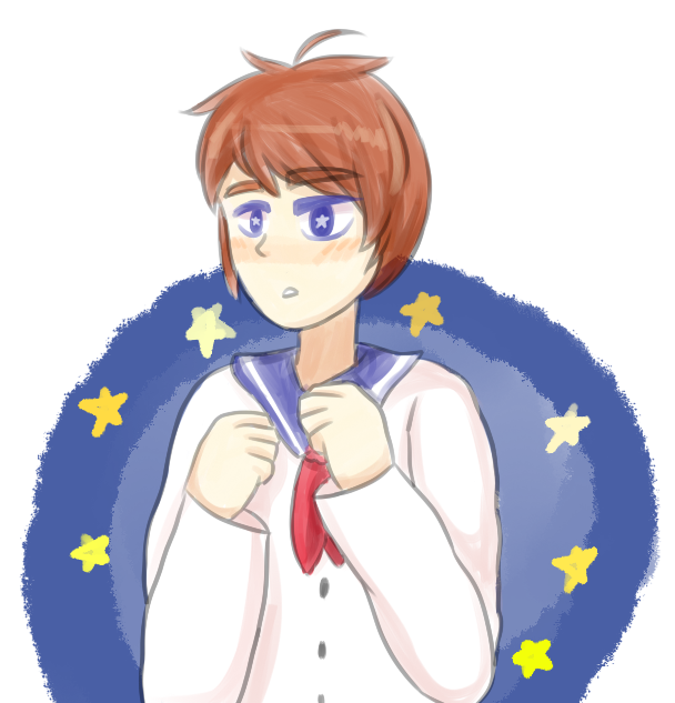 starry-eyed sailor by hungry4ramen