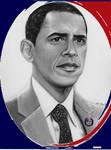 Barack Obama Red White n Blue