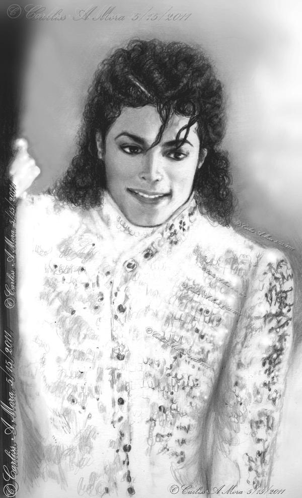 Heavenly MJ by CezLeo