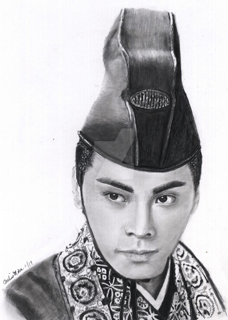 William Chan (Wai-Ting) as Prince Ling by CezLeo