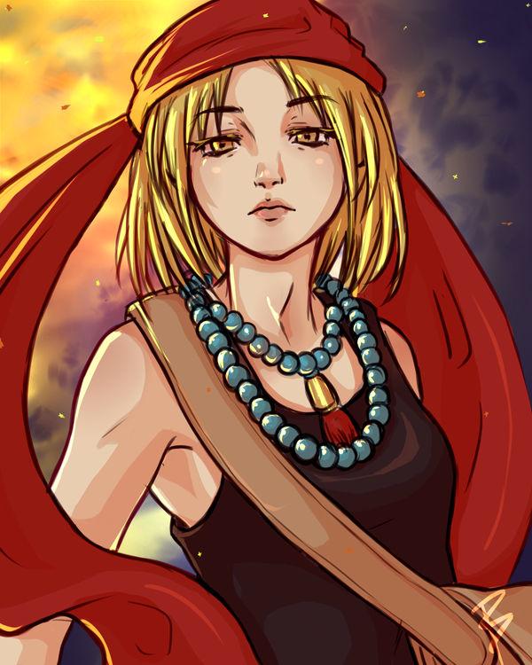 Fan Art: Anna (Shaman King) by buckatone