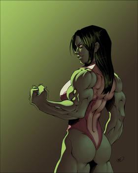 She Hulk [recolored]