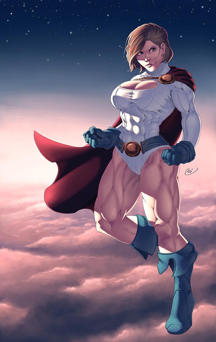 Powergirl by ZigEnfruke