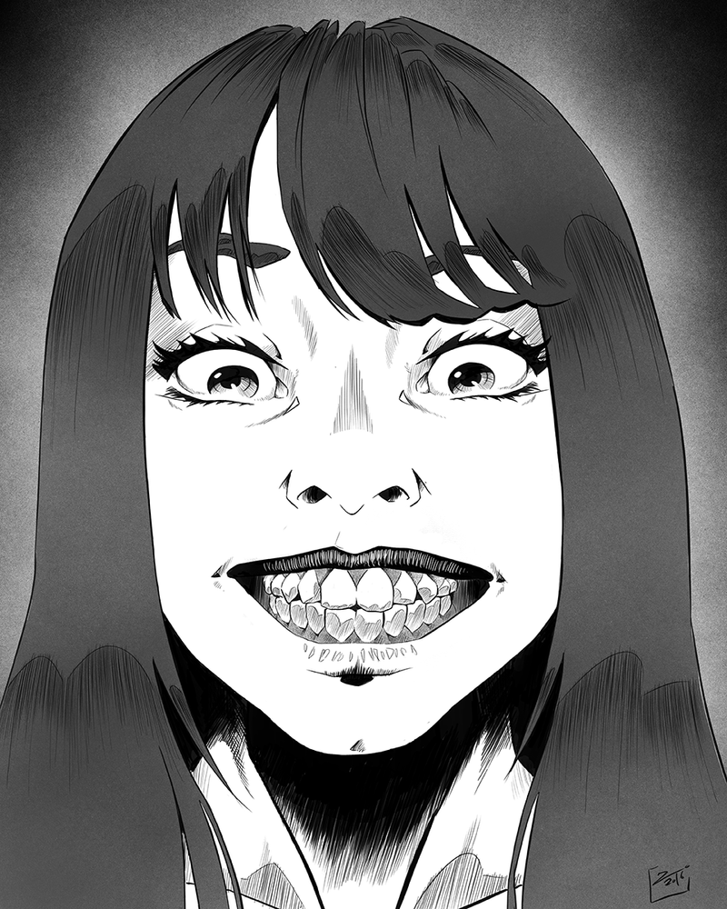 Creepy Smile by ZigEnfruke on DeviantArt