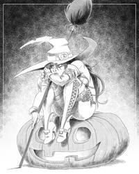 Sad Halloween Witch by ZigEnfruke