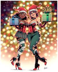 Christmas elves (2018) by ZigEnfruke