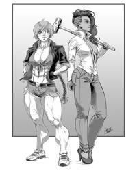 2girls by ZigEnfruke