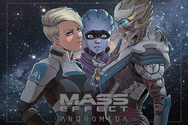 Cover mass effect (4) andromeda color