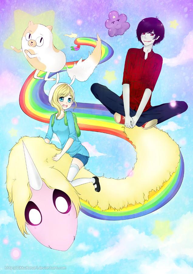 Adventure time! by RikkuHanari