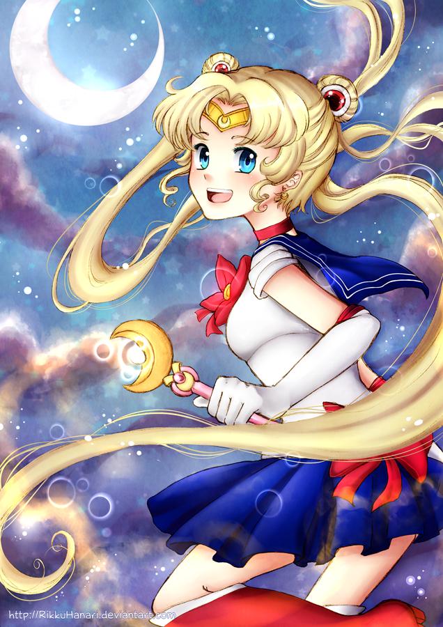 Sailor Moon by RikkuHanari