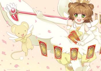 Sakura Card Captor by RikkuHanari