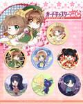 Card Captor Sakura Badget set by RikkuHanari