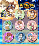 Digimon Badget Set ( 8)