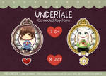 Undertale connected keychain -Pre-order-