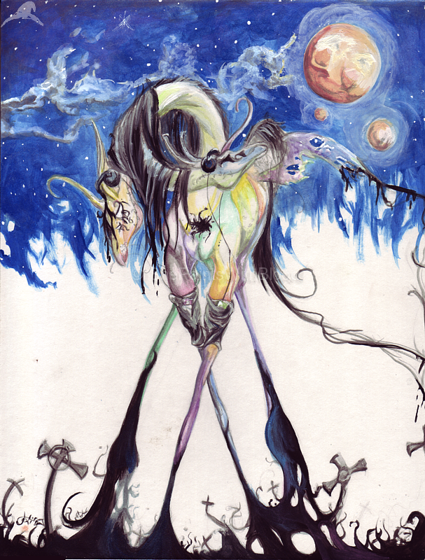 Walk Life on a Dream of Sorts by ShePaintsWithBlood