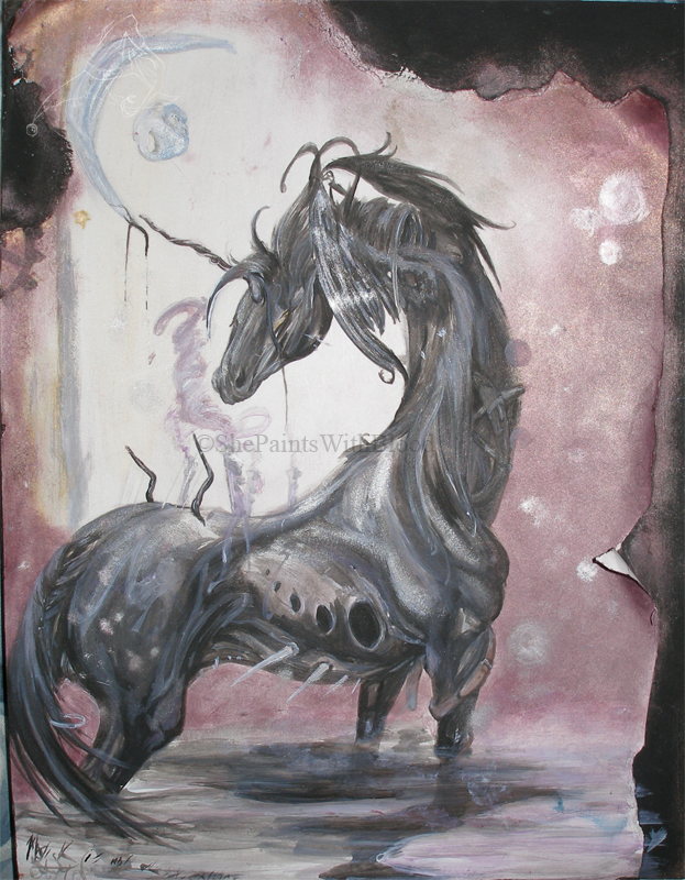 Magick Is Not Dead, Darling. by ShePaintsWithBlood
