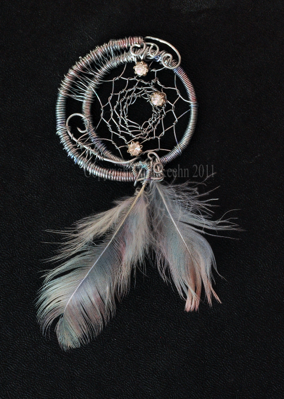 + Cryistall Dreamcatcher + by ShePaintsWithBlood