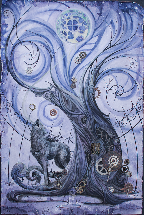 Absentia's Howl by ShePaintsWithBlood