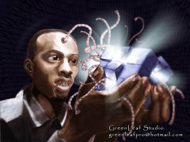 Logical self portrait by greenleafstudio