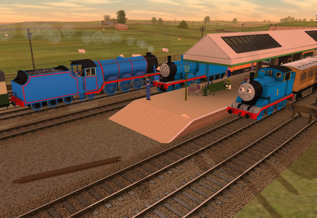 Thomas and the Breakdown Train by SteamAttack on DeviantArt