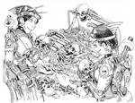 Inktober '19-21~Treasure by EyesofthePotato