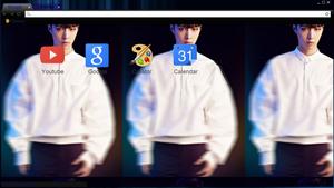 Lay Exo Teaser Comeback Google Chorme Theme nrjung