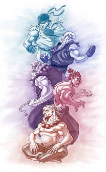 Street Fighter Tribute Piece