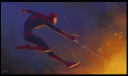 Spiderman Speed Paint by shubacca
