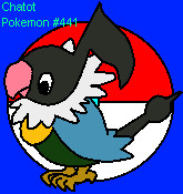 Chatot the Music Note Pokemon by Rapthorn2ndForm