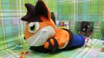 Crash Bandicoot 90's MINKY Playstation plush