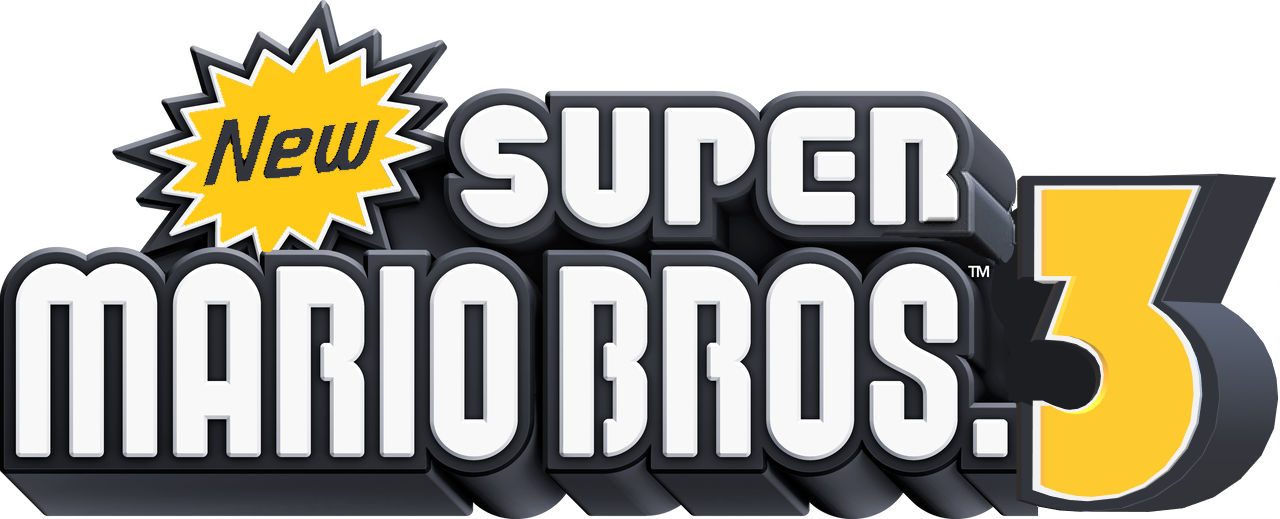 New Super Mario Bros 3 Custom Logo By Nintendocoverartist On Deviantart