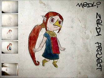 ZeldaProject 01 - Medli by DenLee