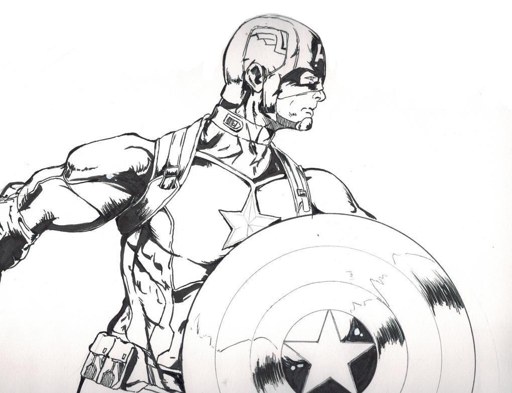 Captain America: Push On! by MichiruYami
