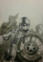 Captain America: Selfless Service by MichiruYami