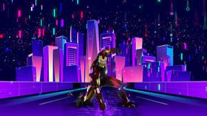 Ironman (Neon lights)