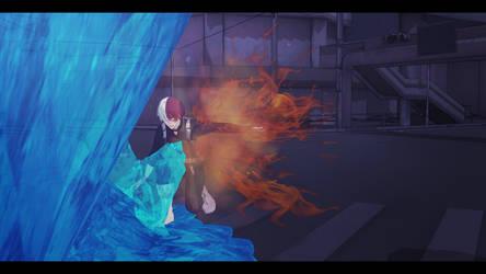Todoroki by CodeBlackRin