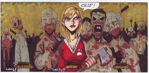 zombeis vs cheerleaders AEs