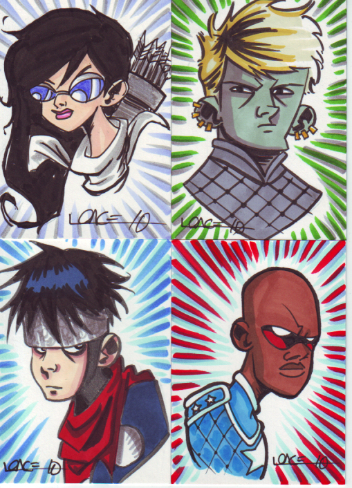 Young Avengers commish by LanceSawyer
