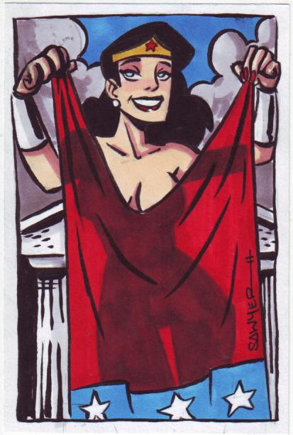 Sexy Wonder Woman... by LanceSawyer on DeviantArt