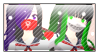 Stamp Shota sparkle x Iky by ColorDream123