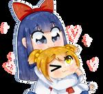 ~*FanArt///Huggable gf*