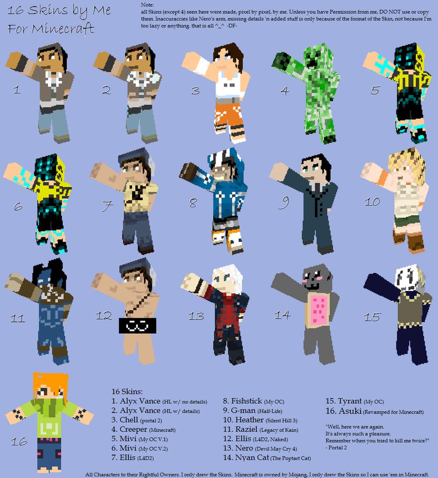 minecraft skins the best free minecraft skins - Minecraft Skins