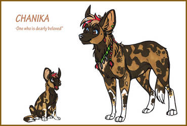 OC - Chanika by WildShoshana
