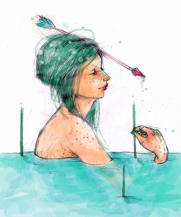 pfeil... -sketch- by Eidottrio