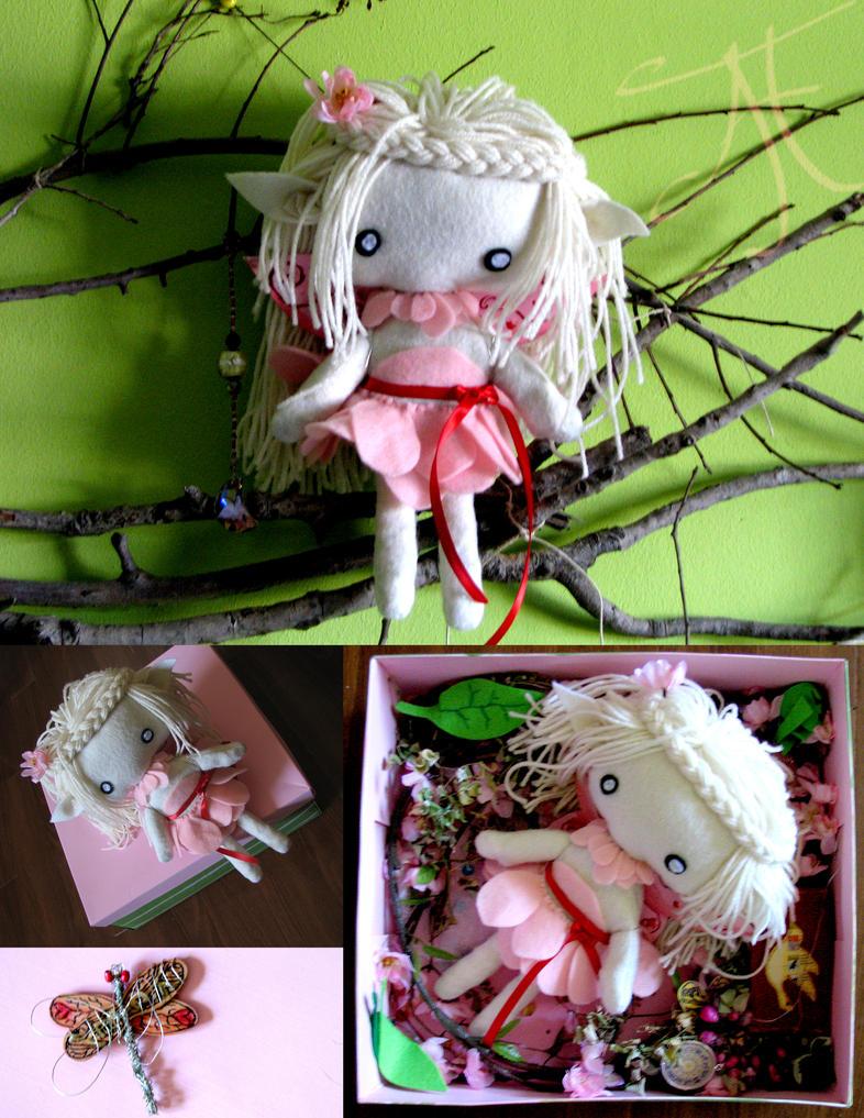 Felt Fairy by DreamOfFire